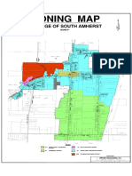 Village of South Amherst Zoning Map