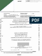 Rapport de décision du cabinet