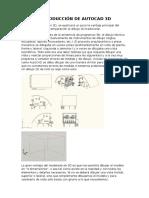 Introducción de Autocad 3d