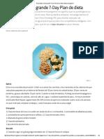 El Perdedor Más Grande 7-Day Plan de La Dieta _ Fitness Magazine