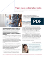 La función del CIO para hacer posible la innovación