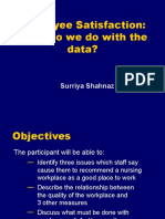 Employee Satisfaction Slides