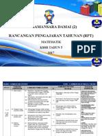 RPT Matematik 5