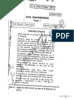 IAS Mains Civil Engineering 2011