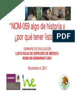 Especies en protegidas y su historia en mexico