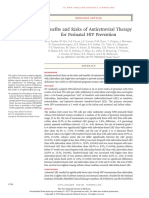 Benefits and Risks of Antiretroviral Therapy