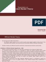 Effecient Market Hypothesis