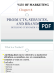 Products, Services and Brands Mktg Chapt 8