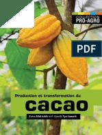 Production et transformation du Cacao
