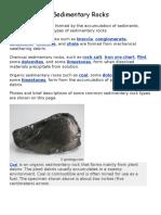 sedimentary rocks images