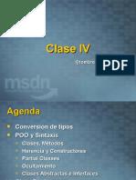 Clase IV