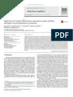 Phase Stability Analysis of Liquid Liquid Equilibrium