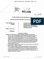 LIBERI v TAITZ - 128 - NOTICE OF APPEAL by DEFEND OUR FREEDOMS FOUNDATIONS, INC - paed-15307916629