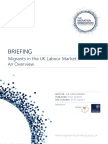 Briefing-Migrants UK Labour Market