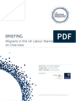 Briefing-Migrants UK Labour Market