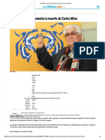 El Futbol Mexicano Lamenta La Muerte de Carlos Miloc