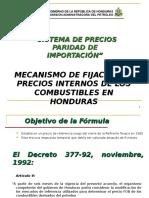Determinacion Del Precio Del Combustible Honduras