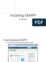 Installing x Am Pp