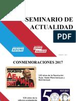 Seminario de Actualidad 2017