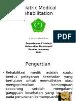 Rehabilitasi Medik Pada Geriatri