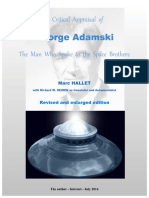 A Critical Appraisal of George Adamski the Man Who Spoke to the Space Brothers -REVISED and ENLARGED EDITION - 2016