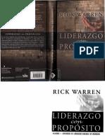 Liderazgo Con Proposito-Rick Warren