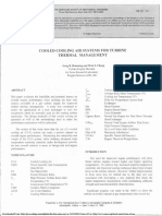 BRUENING, 1999, Cooled Cooling Air Systems for Turbine Themal Management