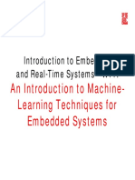 Machine Learning in Embedded System