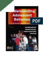 Understanding Adolescent Behavior EBOOK1