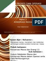 Materi 3_Konservasi Massa