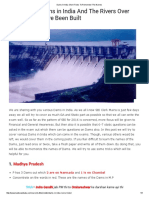Dams in India_ Short Tricks to Remember the Names