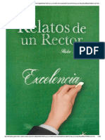 Relatos de Un Rector