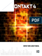 KONTAKT Demo Library Manual