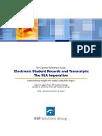 ESP Electronic Transcripts ORG