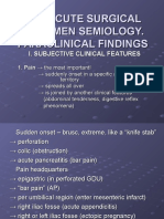 THE ACUTE SURGICAL ABDOMEN SEMIOLOGY.ppt