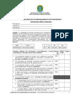 Check List Para Formalizao de Processo Na Modalidade Convite - Obras e Servios de Engenharia