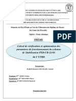Calcul de Vérification Et Optimisation Des.......