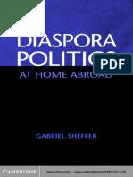 Diaspora Politics at Home Abroad