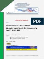 Análisi_legislacion Ambiental Coca Codo Sinclair