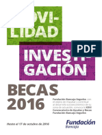 Folleto Becas 2016
