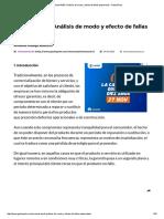 Manual AMEF Análisis de Modo y Efecto de Fallas Potenciales • GestioPolis