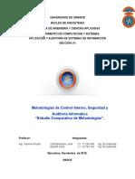 Metodologias Del Control Interno