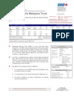 CapitaMalls Malaysia Trust