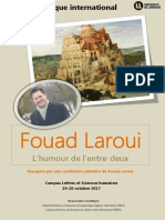 Appel Fouad Laroui