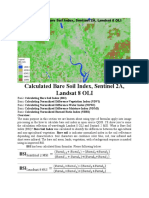 Calculated Bare Soil Index