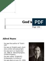 God's Gift Report