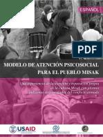 Modelo de Atencion Psicosocial Para El Pueblo Misak.