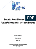 Bonnefoy Aviation Fuel and Emissions