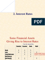 Interest Rates(9)(1)