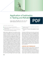 25 – Application of Isokinetics in Testing and Rehabilitation